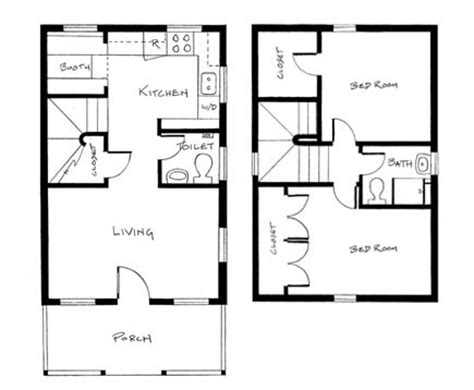 Home Petite Home Tumbleweed Tiny House Floor Plans
