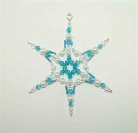 beaded snowflake ornaments 142 best images about bead snowflakes on