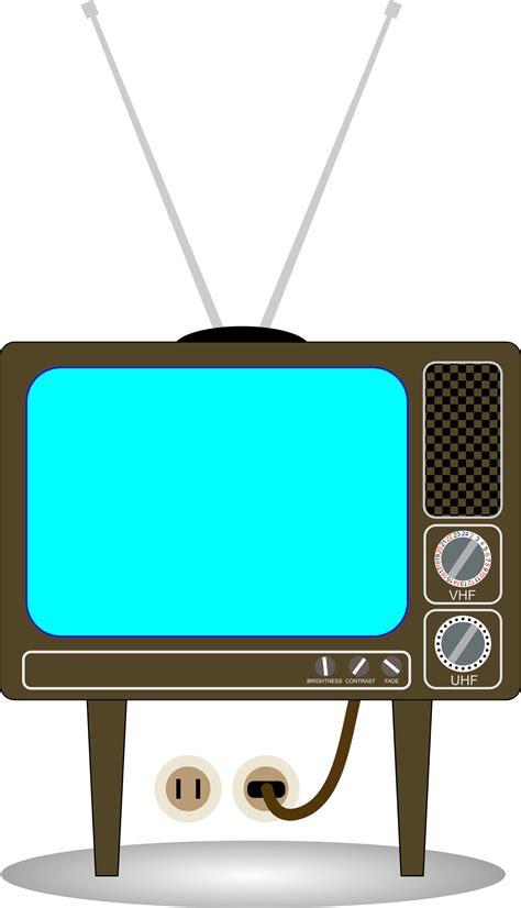 television clip clipart tv set