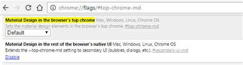 chrome themes disable how to disable material theme in google chrome devacron com
