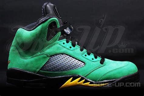 oregon basketball shoes air 5 retro oregon ducks pe new detailed pics