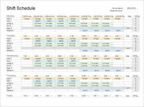employee shift schedule template 77 work schedule templates word excel pdf creative