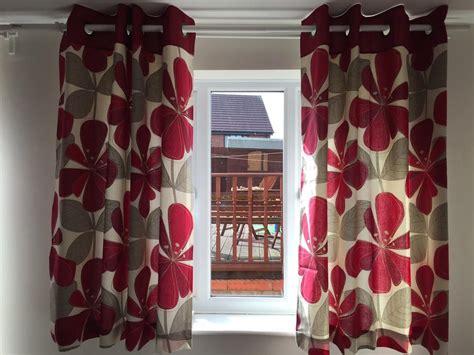 short eyelet curtains next floral eyelet curtains short tipton dudley
