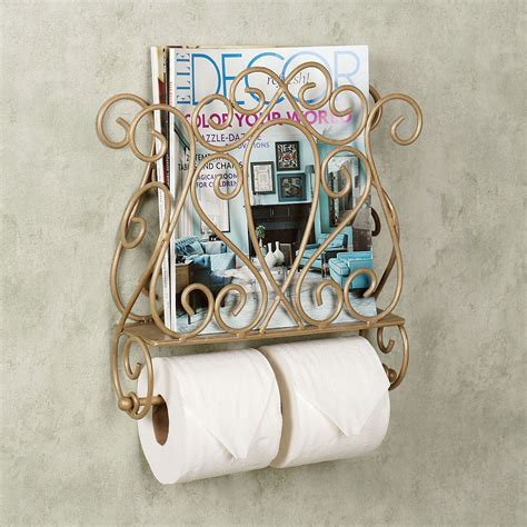 bathroom wall magazine holder gianna wall mount magazine rack and toilet paper holder