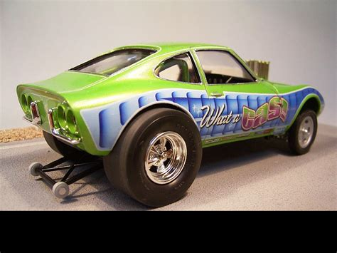 opel race car opel gt gasser drag racing models model cars magazine
