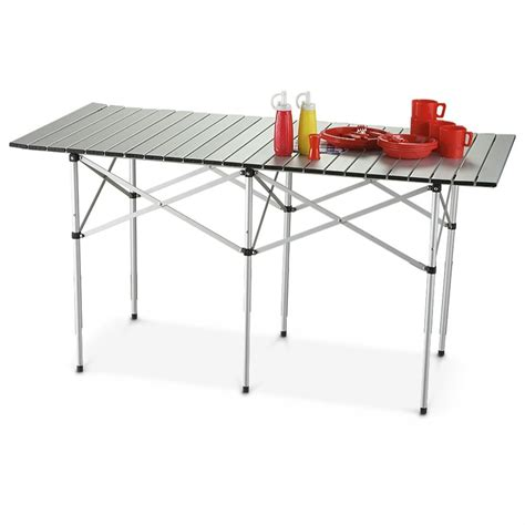 gear table guide gear 174 roll top table 198422 tables at sportsman s