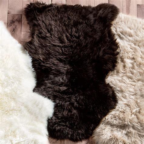 sheepskin rug brown southwest rugs brown small sheepskin rug lone western decor