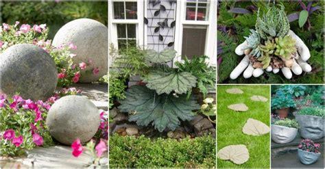 Cement Garden Decor Diy Concrete Archives My Amazing Things