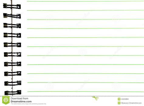 cuaderno espiral espiral cuaderno encuadernado foto de archivo imagen 44252884