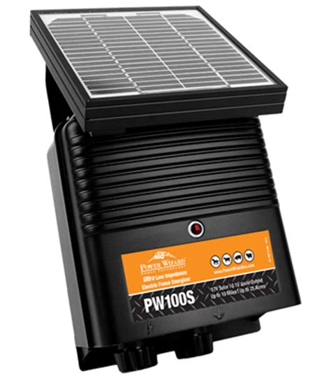 electric fence solar charger solar powered electric fence charger power wizard ramm fence
