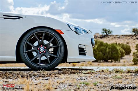 matte black subaru brz forgestar cf5v wheels for subaru 5x100mm 5x114mm brz wrx sti