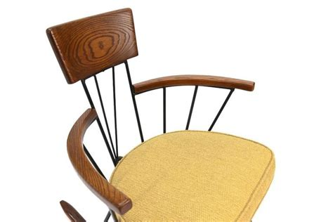 Iron Rocking Chair by Iron And Oak Rocking Chair By Richard Mccarthy For Selrite