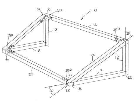 awning drawing patent us8104527 method and apparatus for making an