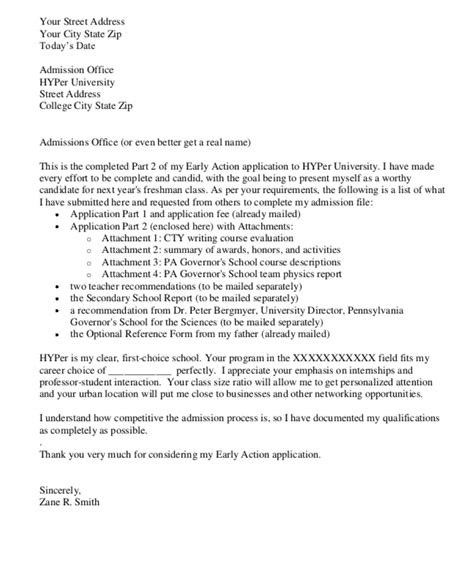 how to write a cover letter for college admission how to write an application letter for college 4tests