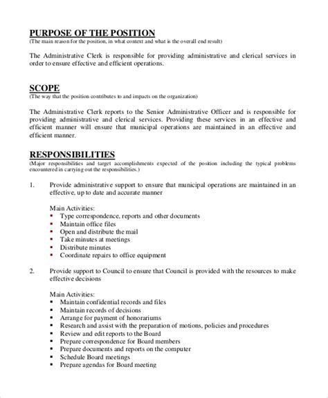 administrative assistant description office administrative assistant recommendation