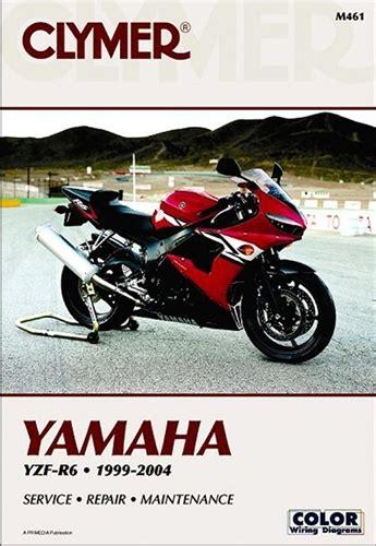Yamahayzf R6 Manual Service Repair Owners