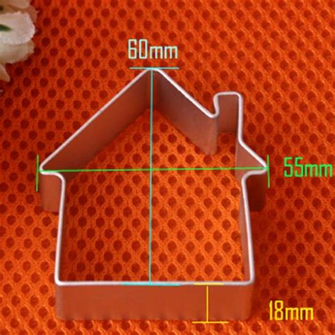 house shaped cookie cutter popular house shaped cookie cutter buy cheap house shaped cookie cutter lots from