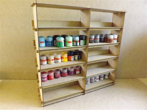 Shelf Paint by Building A Citadel Paint Rack Or Shelf Jester Painting