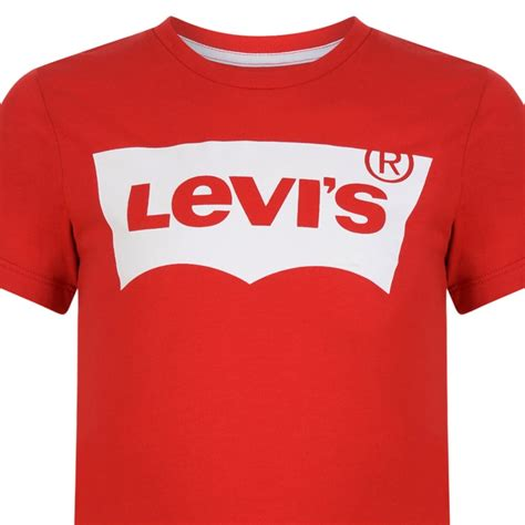 Tshirtkaos Priat Shirt Distro Levis levi s boys regular fit t shirt with white logo print levi s from chocolate clothing uk
