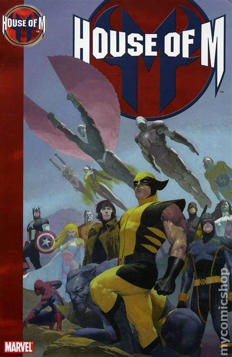 House Of M by House Of M Tpb 2006 Marvel Comic Books