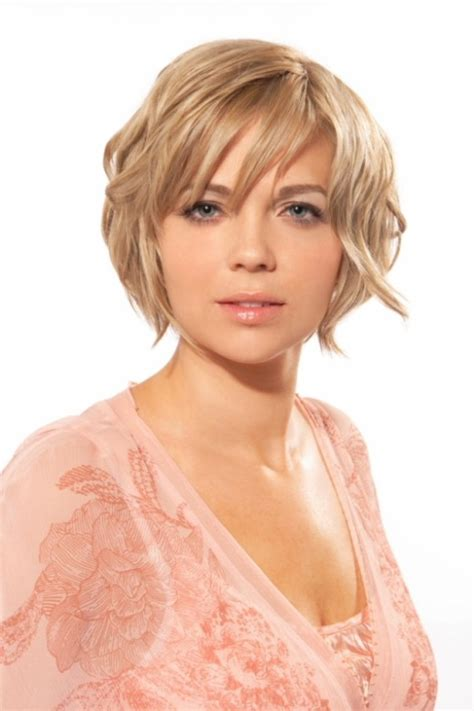 models with round faces awesome round face short hairstyles 2012 yusrablog com