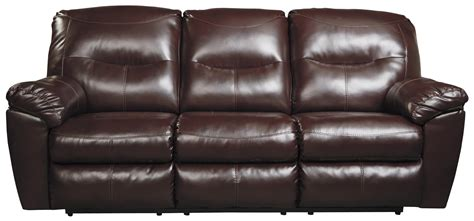 signature design by barrettsville 2 seat reclining sofa durablend reclining sofa benchcraft by