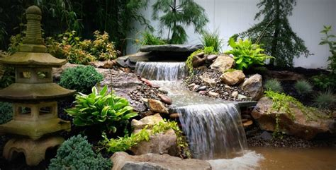 ponds waterfalls landscaping long island design and buld landscape