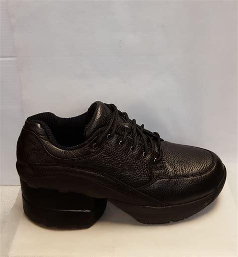 z shoes z coil fw k2400 legend slip resistant black leather