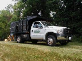 landscape dump truck country view landscaping gallery