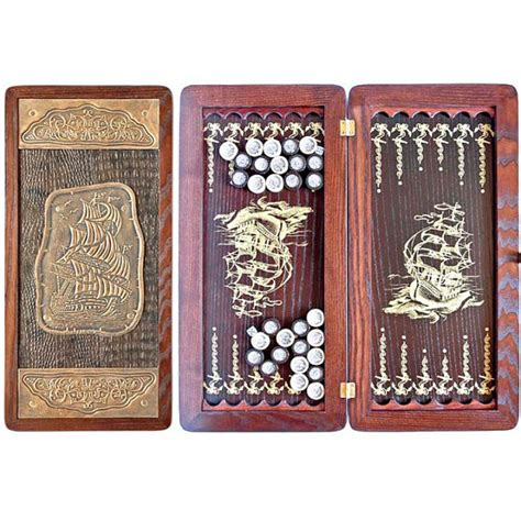 Handmade Backgammon Set - exclusive backgammon set ship handmade by accessoriesofwood