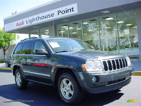 light blue jeep cherokee 2007 jeep grand cherokee limited 4x4 in steel blue