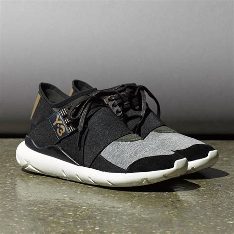 the iconic y 3 qasa in luxurious leather and technical neoprene for the y 3 qasa