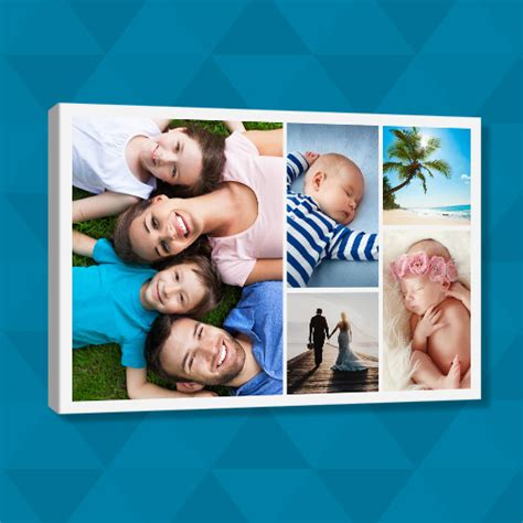 create canvas collage canvas depot custom photo canvas prints 70
