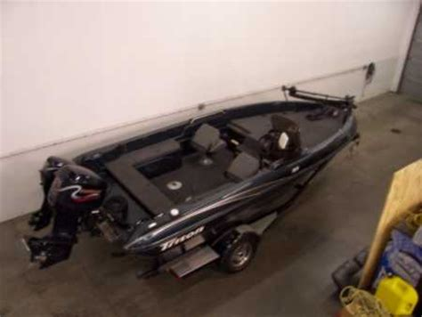 used triton walleye boats for sale mike kennedy s triton boat for sale on walleyes inc
