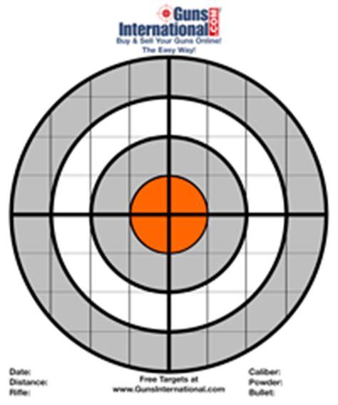 printable 8 inch targets free targets