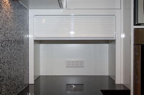 roller shutter cabinets for kitchen kitchen accessories melbourne executive kitchens melbourne