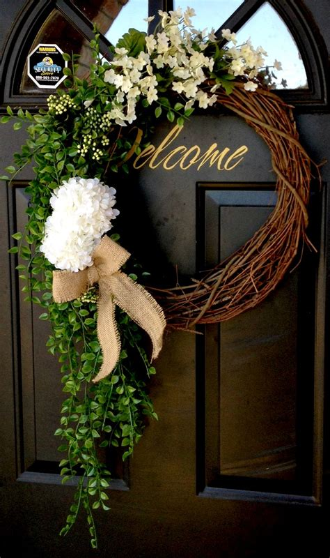 spring wreaths for front door diy page 2 somewhere in the middle