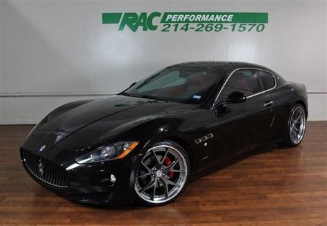 maserati red and black 2009 maserati granturismo black