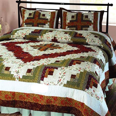 elegant decor log cabin quilt reviews wayfair