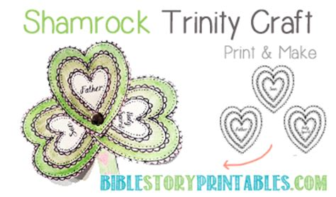 christian shamrock coloring pages christian st patrick s day crafts holy trinity shamrock