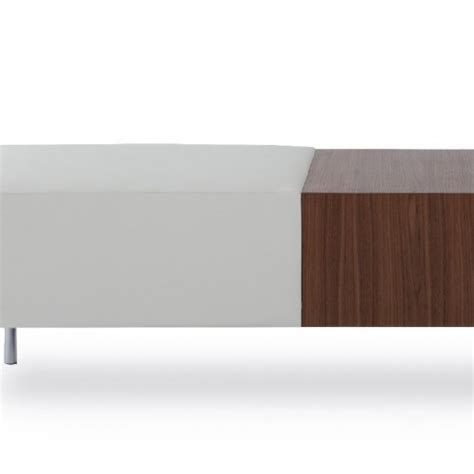 built in table and bench cuff and collar round bench with built in table 166b 3