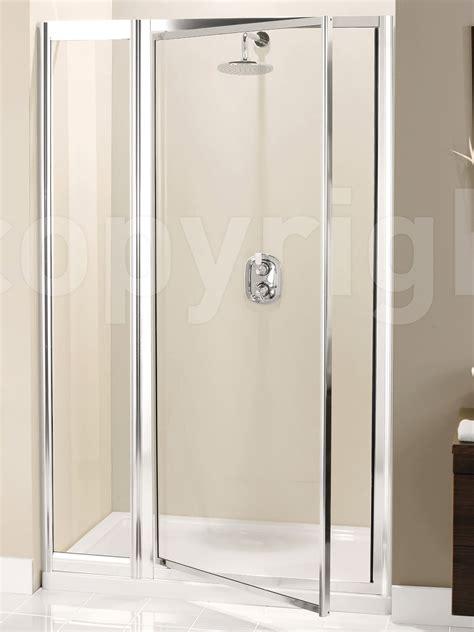 Pivot Or Hinged Shower Door Simpsons Supreme Pivot Door With Inline Panel 1000mm