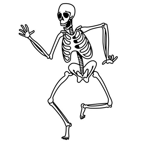 skeleton coloring page free coloring pages of skeleton pirate