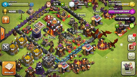 clash of apk hack clash of clans mod apk lenov ru