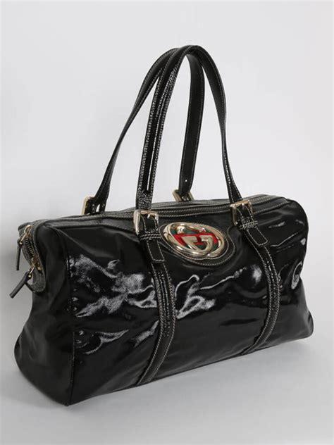 Gucci Romy Medium Boston Bag by Gucci Britt Medium Boston Bag Black Luxury Bags