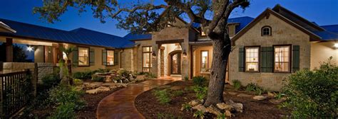 Farmhouse Plans With Porches by Hill Country Custom Home Builder Authentic Custom Homes