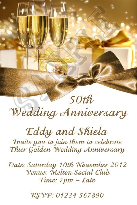 Wedding Anniversary Lunch Ideas by Cool Wedding Anniversary Invitation Cards Remarkable