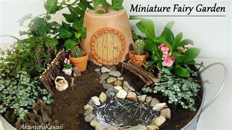 cute miniature fairy garden tutorial youtube