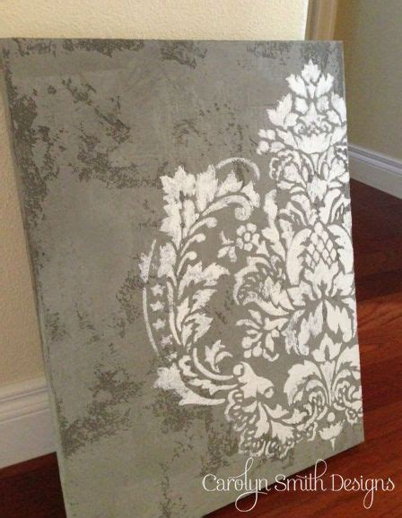 plastering walls tutorial diy tutorial textured plaster canvas with raised stencil