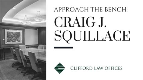 approach the bench approach the bench craig j squillace chicago legal blog